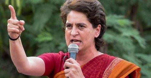 '62 crore vaccine doses, 13 AIIMS': Priyanka Gandhi slams Modi govt over Central Vista project
