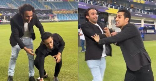 'Mitti ko kha jaun' - 'Maaro mujhe maaro' guy goes bonkers after Pakistan's 10-wicket win over India