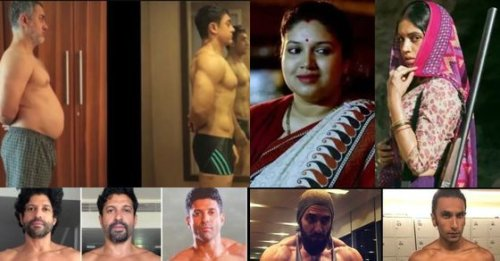 8 photos of Bollywood actors who underwent dramatic body transformations