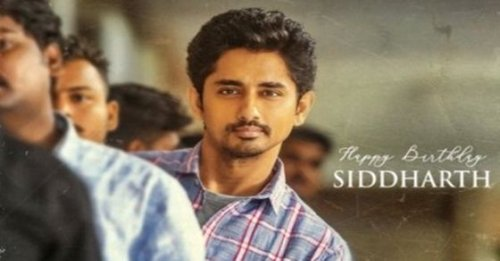 Siddharth's first look from Maha Samudram unveiled on his birthday