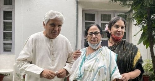 'India needs a change': Javed Akhtar meets Mamata with Shabana Azmi as Opposition muscles up against NDA