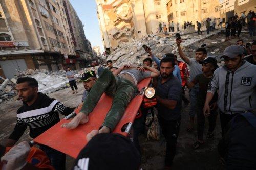 'Screams under the rubble': 26 said killed in Israeli airstrike in Gaza City