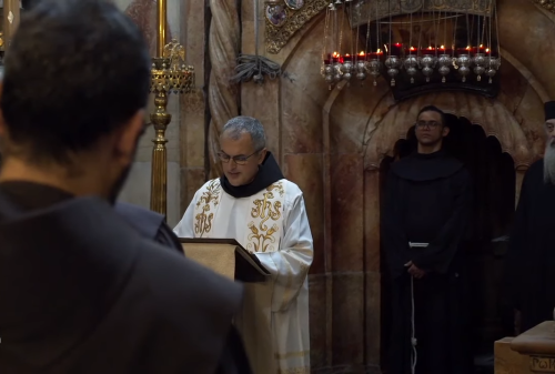 Franciscan leader tours Jerusalem and Bethlehem for first time in over a decade