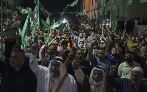 Poll shows 'dramatic' surge in Palestinian support for Hamas after Gaza fighting