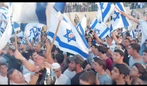 Chant of 'deaths to Arabs' by ultra-nationalists in Jerusalem condemned