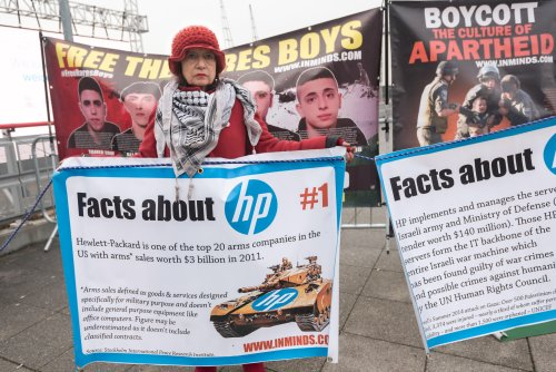 Hewlett Packard says education union's boycott based on a lie
