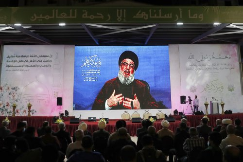 Nasrallah warns Israel against searching for gas in disputed maritime region