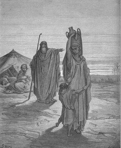 Yishmael and Hagar's Exile and Hammurabi's Code