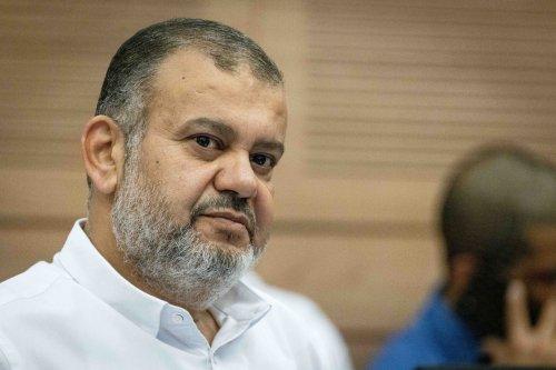 Hamas pan Ra'am MK who indicated party may not bolt coalition if Gaza war erupts