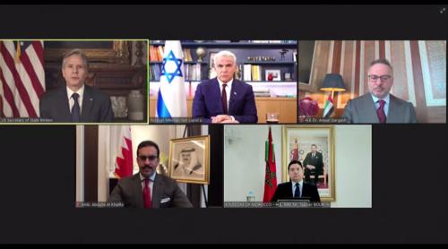 Blinken pledges US backing to expand Abraham Accords between Israel, Arab states