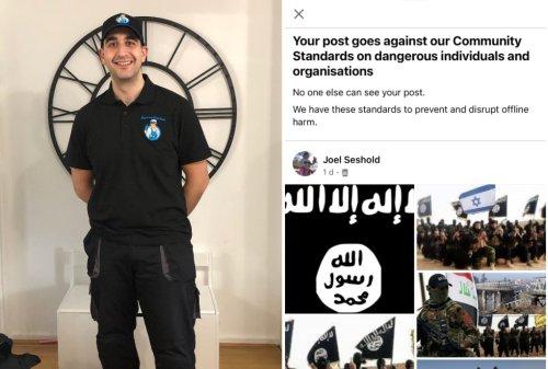 Facebook bans Jewish man after 'antisemitic hacker' posts ISIS propaganda