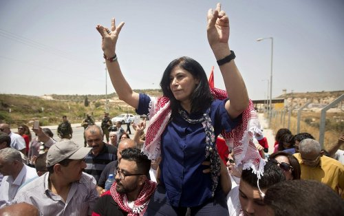 Israel releases Palestinian legislator Khalida Jarrar after 2 years in prison