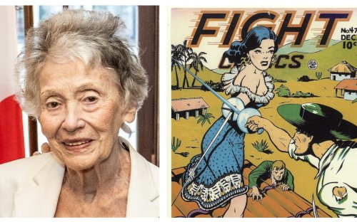 Overlooked Jewish female artist from comics' golden age escaped real WWII peril
