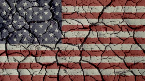 The American colossus may crumble