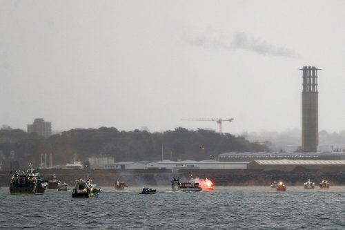 Britain, France send gunboats to Jersey as tensions escalate over fishing rights