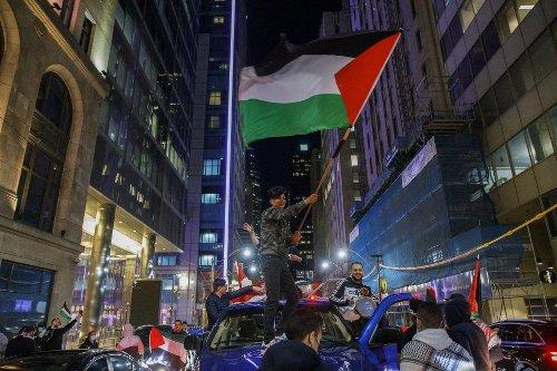 Echauffourées lors d'une manifestation pro-Israël à Montréal