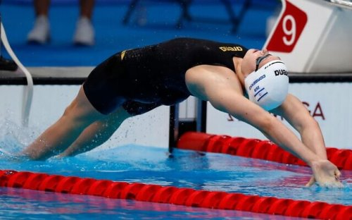 Record-breaking Israeli Olympian swimmer: I'm not done yet
