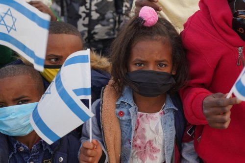 Protecting Ethiopian olim from the rain of rockets