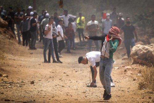 IDF: Palestinian hurling firebombs, rocks shot in West Bank; 2 others arrested