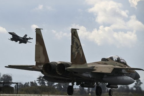 Israeli, UAE fighter jets fly together in large international exercise in Greece