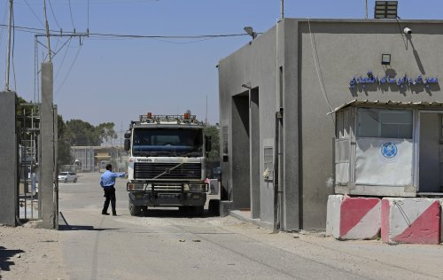 Entry of Qatari fuel into Gaza held up; Israel, PA trade blame