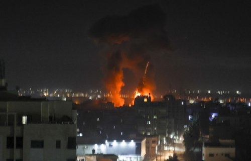 IDF strikes Gaza after incendiary balloons spark fires in south