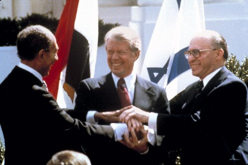 J Street to present Carter with peacemaker award for brokering Israel-Egypt deal