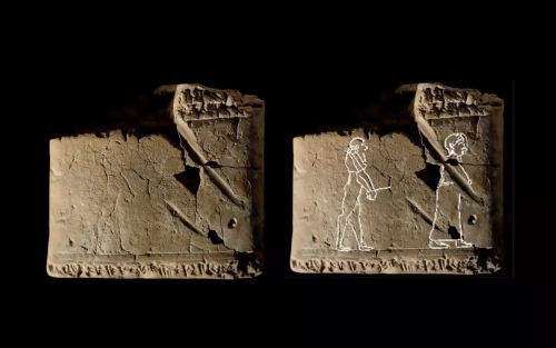 Oldest known drawing of ghost found on ancient Babylonian clay tablet