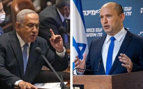 After snub, Bennett says Netanyahu 'dangerously' delegitimizing his government