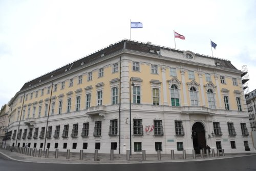 Austria, Slovenia fly Israeli flags in show of support
