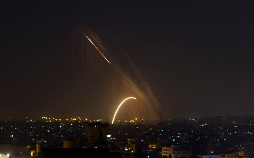 Gaza terrorists fire rocket into Israel for second night in a row