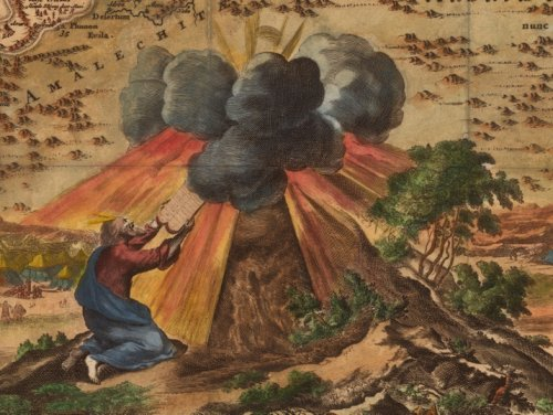 Drawing Moses: From the sublime to the ridiculous