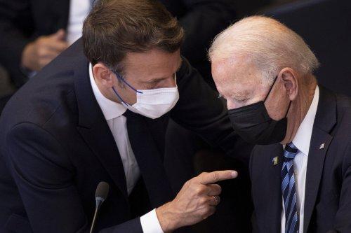 Biden seeks to make amends with Macron amid escalating submarine spat
