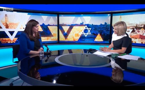 Israel's UK ambassador accuses Newsnight host of 'patronising Palestinians'
