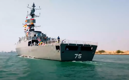 Two new warships join the Iranian navy
