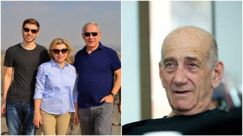 Netanyahus sue ex-PM Olmert for calling them mentally ill