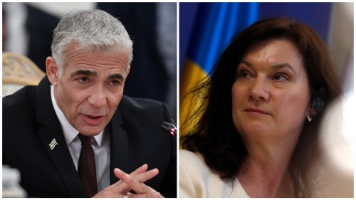 Lapid speaks with Sweden FM, renewing high-level contacts after 7 years
