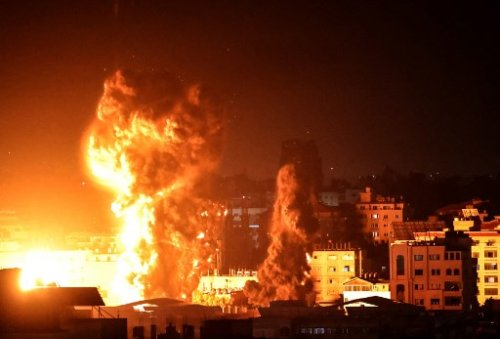 IDF jets carry out massive strikes on Gaza as ceasefire pressure mounts