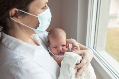 Israeli study: Babies born to vaccinated moms have COVID-fighting antibodies