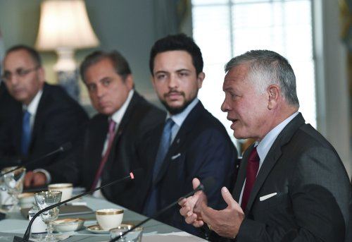 Jordan king: I was 'very encouraged' after meeting with Bennett, Gantz