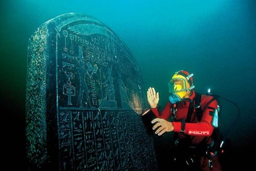 4th-century BCE baskets still containing fruit found in sunken Egyptian city