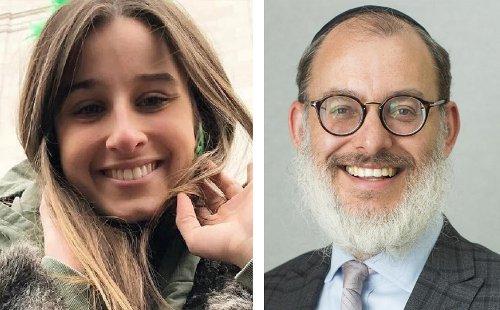 Chanel Contos meets Rabbi Smukler