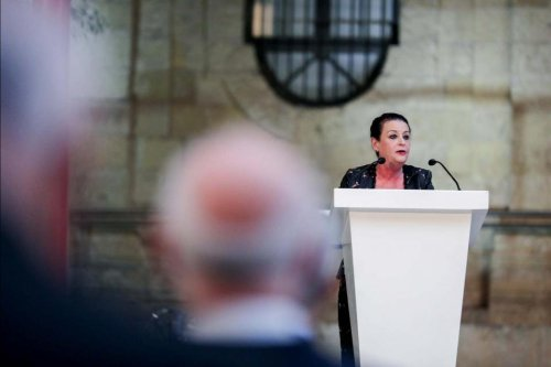 Former Speaker pays tribute to Daphne Caruana Galizia in Victory Day speech