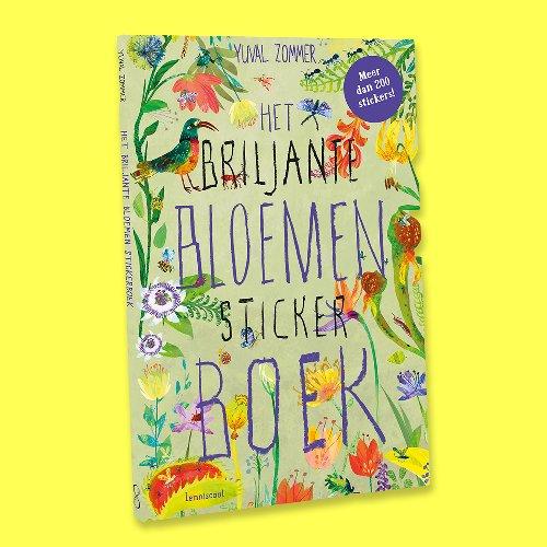 Winnen: 'Het briljante bloemen stickerboek' - Meer strips, tips en vips | Tina.nl