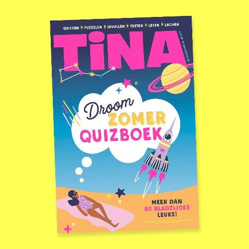 Winnen: Tina Droomzomerquizboek - Meer strips, tips en vips | Tina.nl