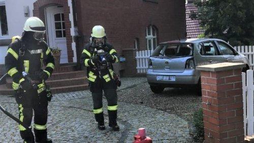 23-Jähriger setzt Auto in Heiligenstadt in Brand