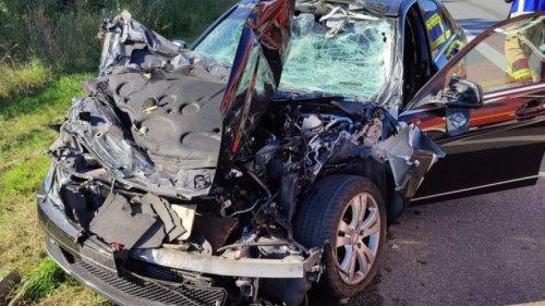 32-Jähriger bei Unfall auf A4 schwer verletzt