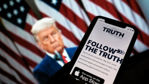 """Statt Twitter: Donald Trump startet eigene """"Wahrheits""""-Plattform"""