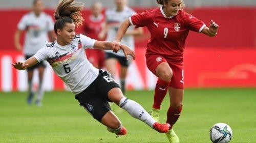 DFB-Fußballerinnen in WM-Qualifikation ohne Oberdorf