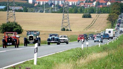 """66 Oldtimer und einige Rallye-Größen bei """"Erfurt Classic"""""""